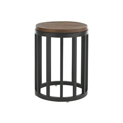 Tommy Bahama Ocean Club Pacifica Round Patio End Table in Sienna