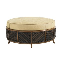 Tommy Bahama Island Estate Lanai Patio Storage Ottoman in Beige