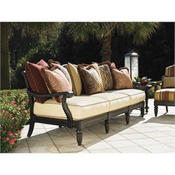 Tommy Bahama Kingstown Sedona Patio Sofa in Ebony