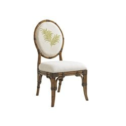 Tommy Bahama Bali Hai Gulfstream Dining Chair in Warm Brown