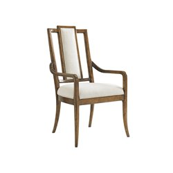 Tommy Bahama Bali Hai St. Barts Dining Arm Chair in Warm Brown