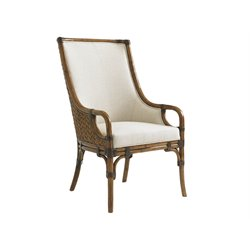 Tommy Bahama Bali Hai Marabella Dining Arm Chair in Warm Brown