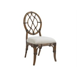 Tommy Bahama Bali Hai Cedar Key Dining Chair in Warm Brown