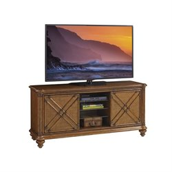 Tommy Bahama Bali Hai Marlin TV Stand in Warm Brown