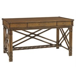 Tommy Bahama Bali Hai Enchanted Isle Writing Desk in Warm Brown
