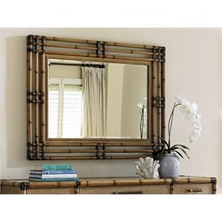 Tommy Bahama Twin Palms Savana Mirror in Brown