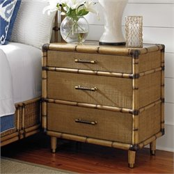 Tommy Bahama Twin Palms Parrot Cay Nightstand in Brown