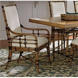 Tommy Bahama Twin Palms Summer Isle Upholstered Dining Arm Chair