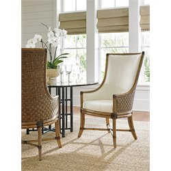 Tommy Bahama Twin Palms Balfour Host Chair in Brown