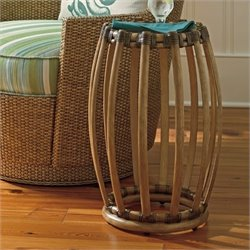 Tommy Bahama Twin Palms Weston Accent Table in Brown
