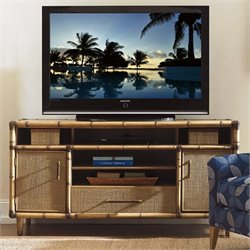 Tommy Bahama Twin Palms Windjammer TV Stand in Brown