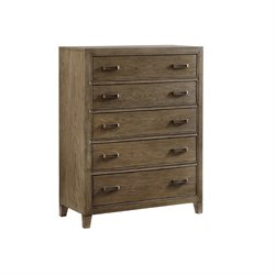 Tommy Bahama Cypress Point 5 Drawer Chest in Gray