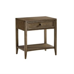 Tommy Bahama Cypress Point Stevenson Open Nightstand in Gray