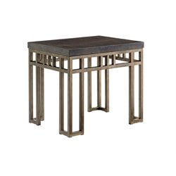 Tommy Bahama Cypress Point End Table in Gray