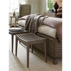 Tommy Bahama Cypress Point Bench in Gray