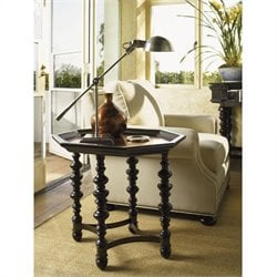 Tommy Bahama Home Kingstown Plantation End Table in Tamarind