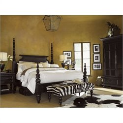 Tommy Bahama Home Kingstown Sovereign Wood Poster Bedroom Set