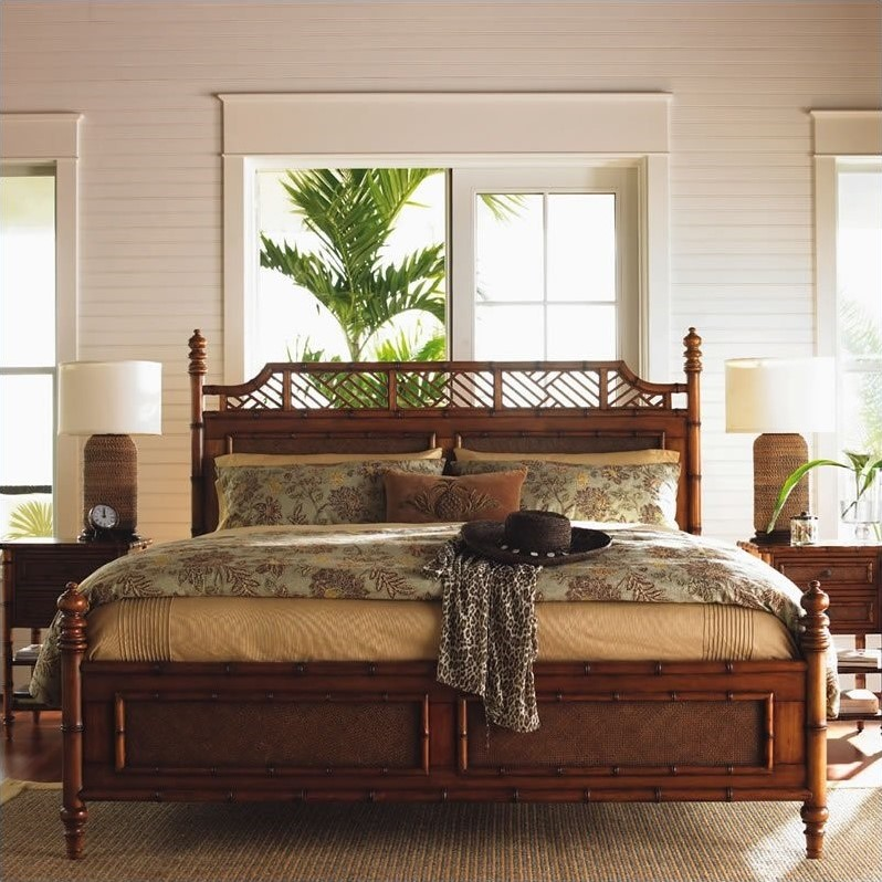 astounding tommy bahama bedroom furniture white | Tommy Bahama Home Island Estate West Indies Poster Canopy ...