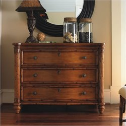 Tommy Bahama Home Island Estate Barbados 3 Drawer Chest in Plantation Finish