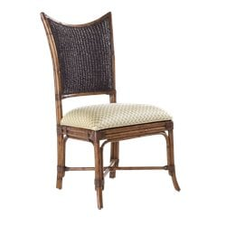 Tommy Bahama Home Island Estate Mangrove Fabric  Dining Chair in Plantation