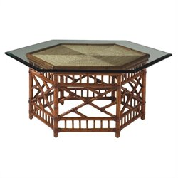 Tommy Bahama Home Island Estate Key Largo Coffee Table in Plantation