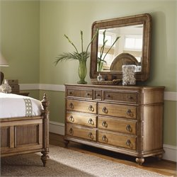 Tommy Bahama Home Beach House Biscayne Dresser in Golden Umber