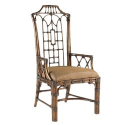 Tommy Bahama Home Royal Kahala Pacific Rim Arm Dining Chair