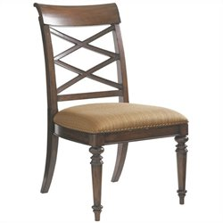 Tommy Bahama Home Landara  Dining Chair in Rich Tobacco