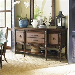Tommy Bahama Home Landara Pine Isle Sideboard in Rich Tobacco