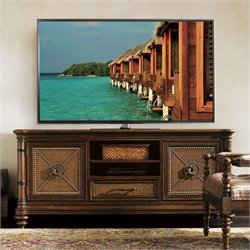 Tommy Bahama Home Landara Cobia Media Console in Rich Tobacco