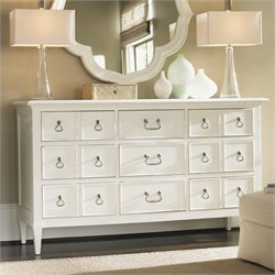 Tommy Bahama Home Ivory Key Grotto Isle Dresser in White