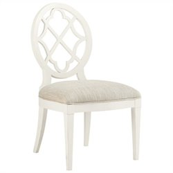 Tommy Bahama Home Ivory Key Mill Creek  Dining Chair in White