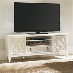 Tommy Bahama Home Ivory Key Wharf Street Entertainment Console in White