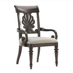Tommy Bahama Island Traditions Chester Carved Arm Chair