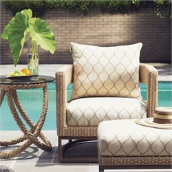 Tommy Bahama Home Aviano Wicker Barrel Chair
