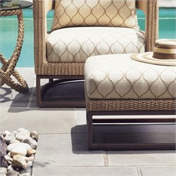 Tommy Bahama Home Aviano Wicker Ottoman