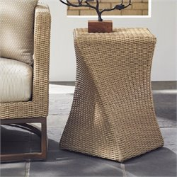 Tommy Bahama Home Aviano Wicker End Table