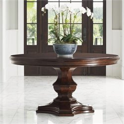 Tommy Bahama Home Kilimanjaro Maracaibo Round Dining Table in Tangiers