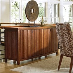 Tommy Bahama Island Fusion Saporo Wood Buffet in Dark Hickory