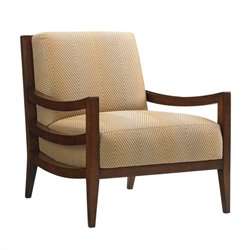 Tommy Bahama Island Fusion Singapore Fabric Chair in Beige