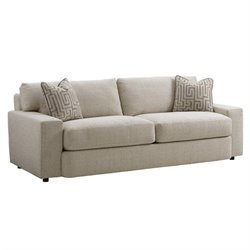 Tommy Bahama Island Fusion Sakura Fabric Sofa in White