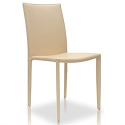 Modloft Varick Dining Chair in Beige Leather
