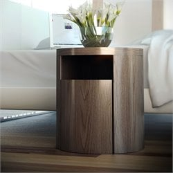 Modloft Mulberry Nightstand in Walnut