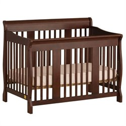 4-in-1 Stages Baby Crib in Cherry