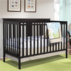 Ridge Convertible Crib in Espresso