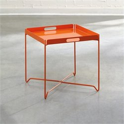 Tray Table in Orange