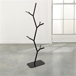 Twig Hall Tree in Black