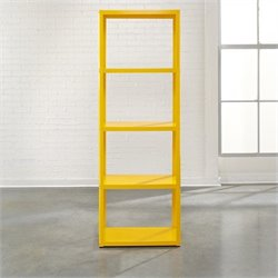 Bookcase in Yellow Saffron