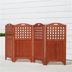 Outdoor & Indoor Hardwood Privacy Screen