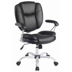 Ergonomic Task Office Chair in Black